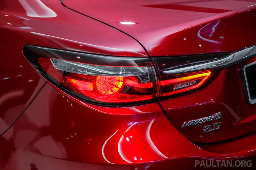 2018 Mazda 6 facelift previewed in M'sia – four variants Image #849807