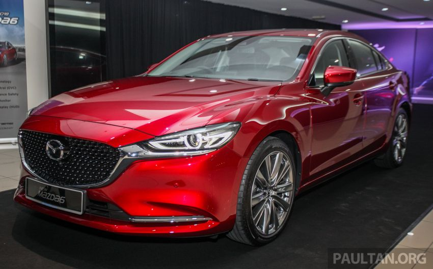 2018 Mazda 6 facelift previewed in M'sia – four variants Image #849774