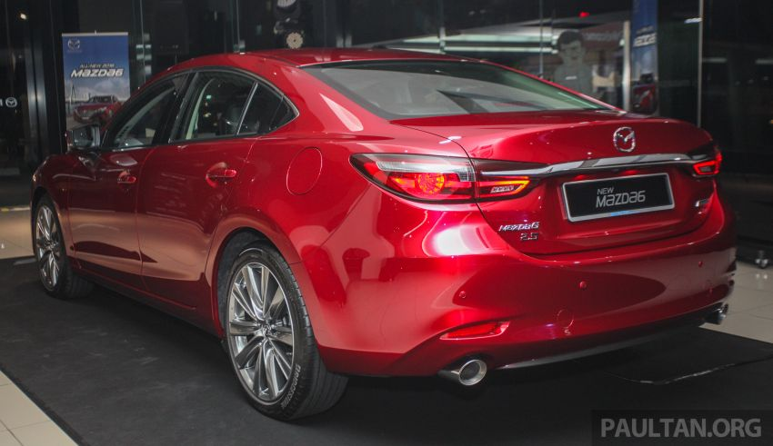 2018 Mazda 6 facelift previewed in M'sia – four variants Image #849776