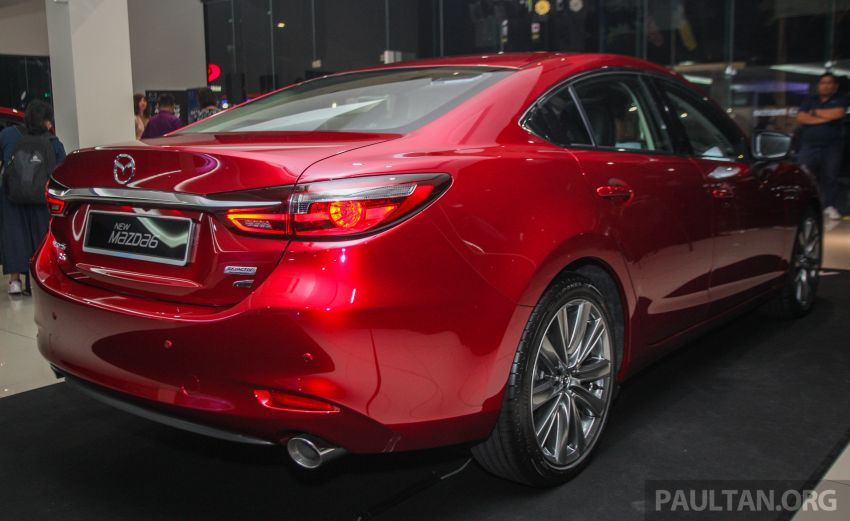 2018 Mazda 6 facelift previewed in M'sia – four variants Image #849778