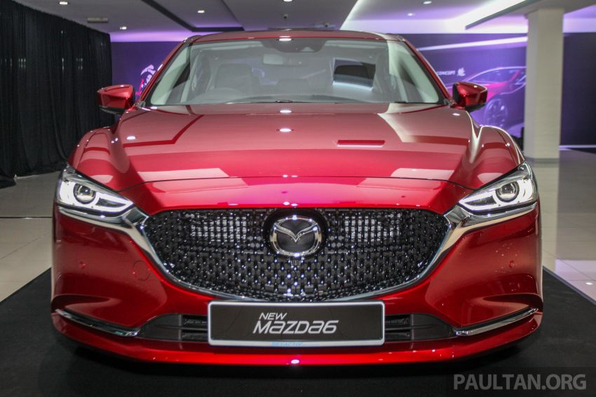 2018 Mazda 6 facelift previewed in M'sia – four variants Image #849780