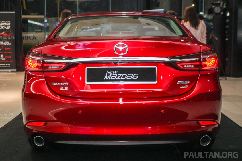 2018 Mazda 6 facelift previewed in M'sia – four variants Image #849782