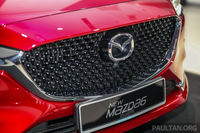 2018 Mazda 6 facelift previewed in M'sia – four variants Image #849791