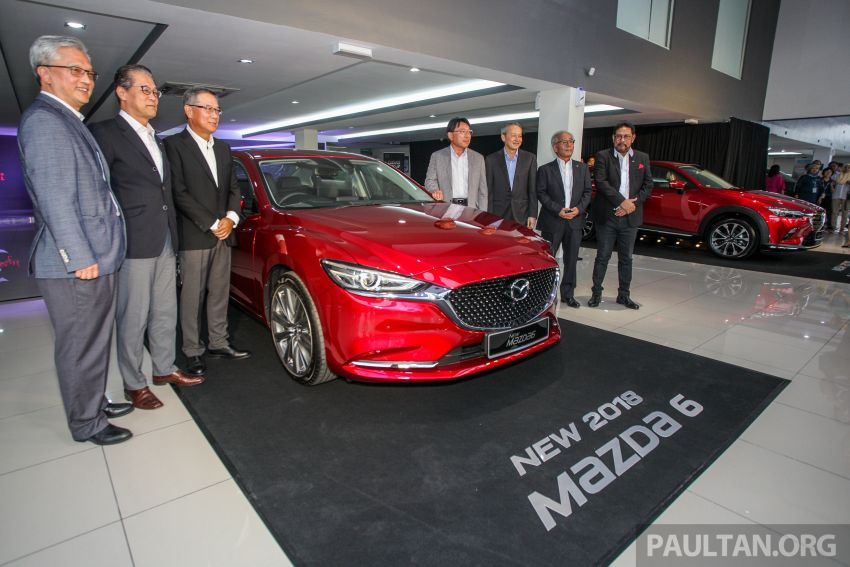 2018 Mazda 6 facelift previewed in M'sia – four variants Image #849628