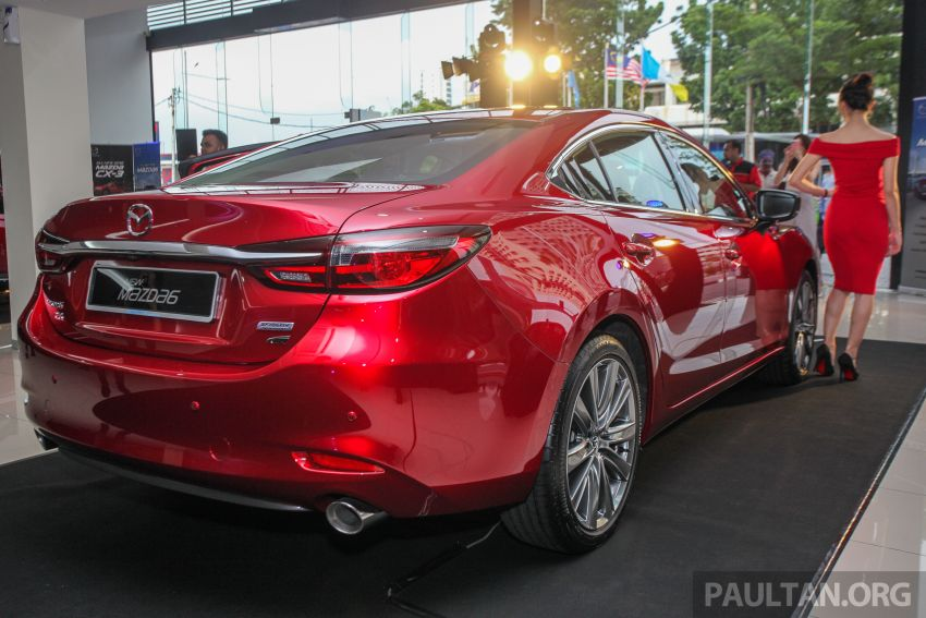 2018 Mazda 6 facelift previewed in M'sia – four variants Image #849638
