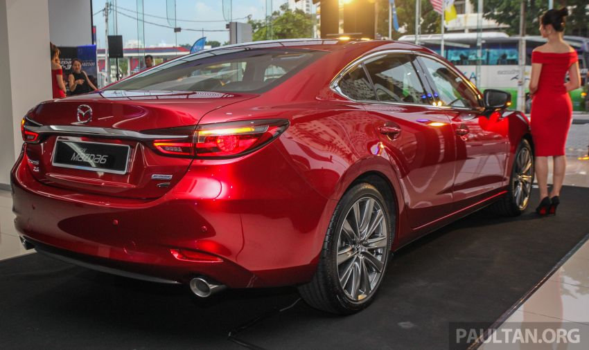 2018 Mazda 6 facelift previewed in M'sia – four variants Image #849639
