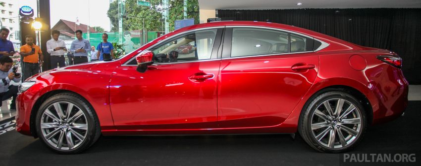 2018 Mazda 6 facelift previewed in M'sia – four variants Image #849640