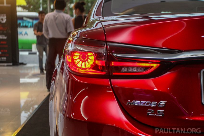 2018 Mazda 6 facelift previewed in M'sia – four variants Image #849644