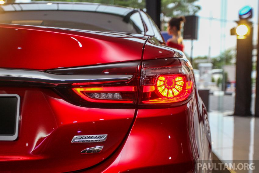 2018 Mazda 6 facelift previewed in M'sia – four variants Image #849645