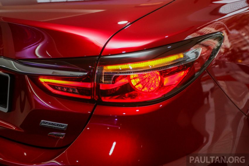 2018 Mazda 6 facelift previewed in M'sia – four variants Image #849646