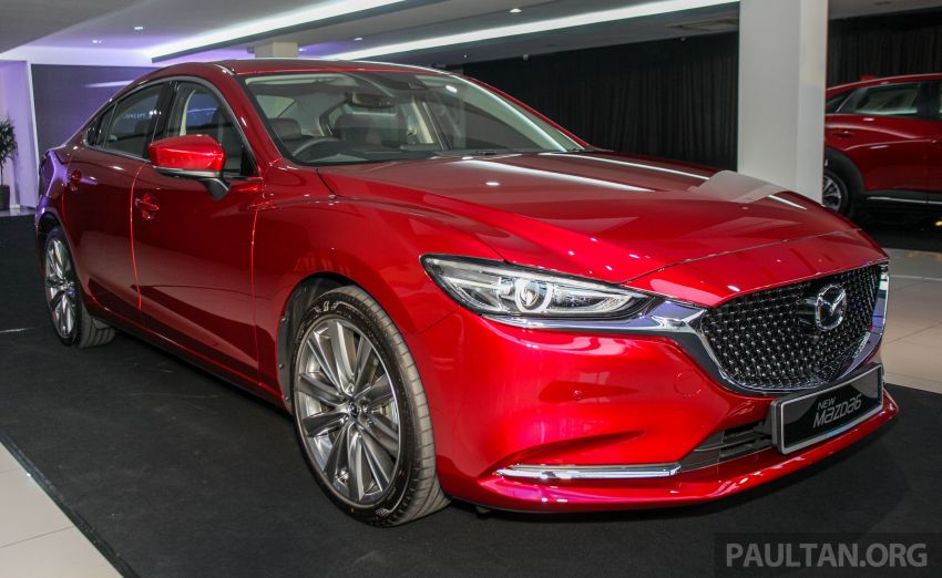 2018 Mazda 6 facelift previewed in M'sia – four variants Image #849629