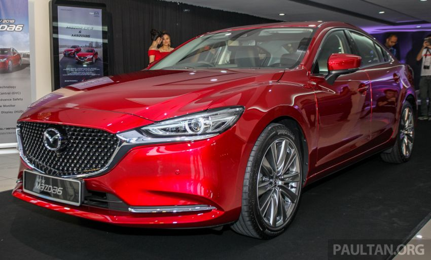 2018 Mazda 6 facelift previewed in M'sia – four variants Image #849630