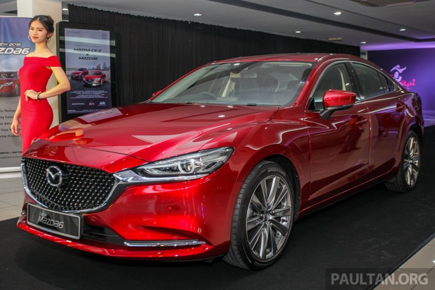 2018 Mazda 6 facelift previewed in M'sia – four variants Image #849631