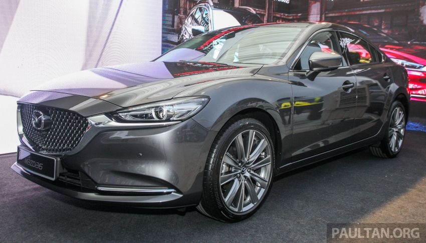 2018 Mazda 6 facelift previewed in M'sia – four variants Image #849671
