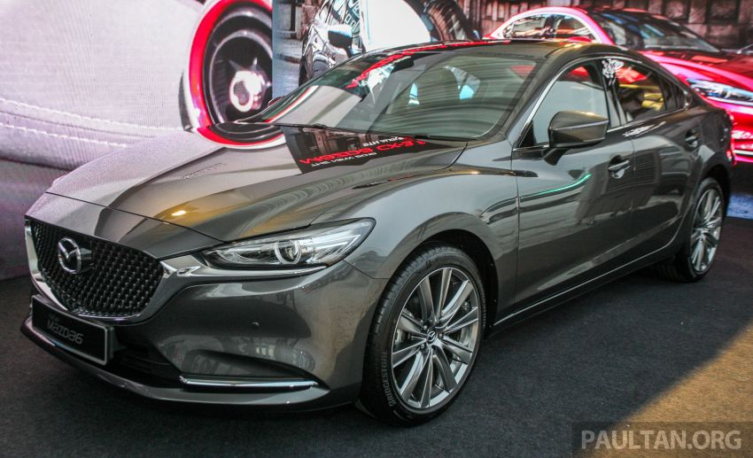 2018 Mazda 6 facelift previewed in M'sia – four variants Image #849672