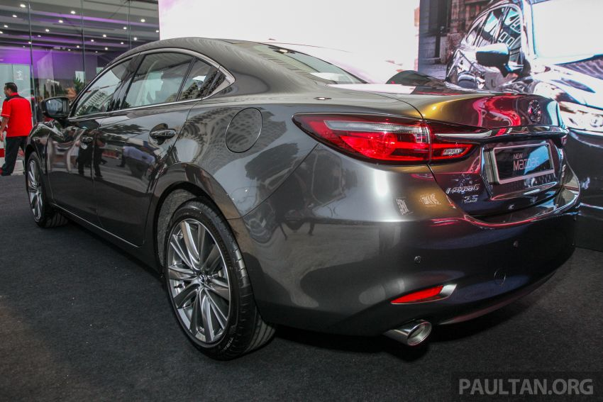 2018 Mazda 6 facelift previewed in M'sia – four variants Image #849673