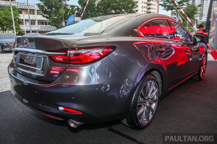 2018 Mazda 6 facelift previewed in M'sia – four variants Image #849674