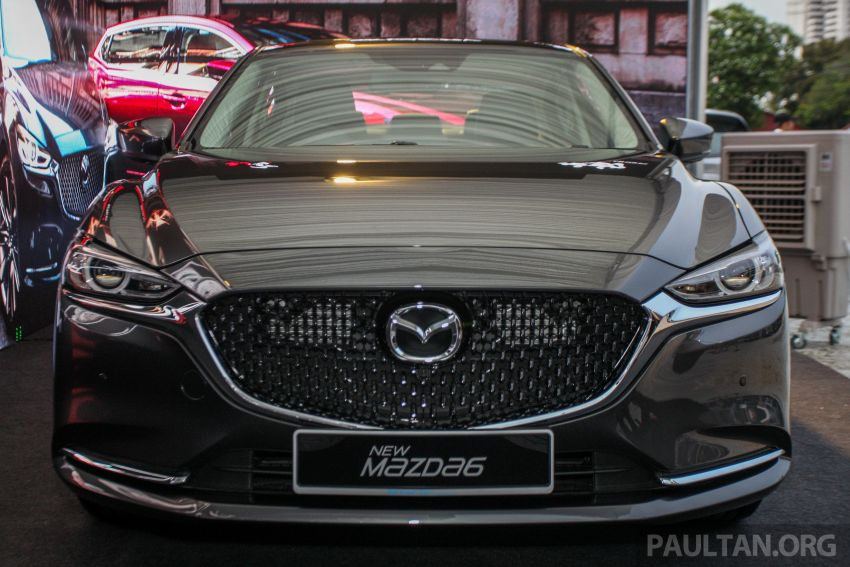 2018 Mazda 6 facelift previewed in M'sia – four variants Image #849675