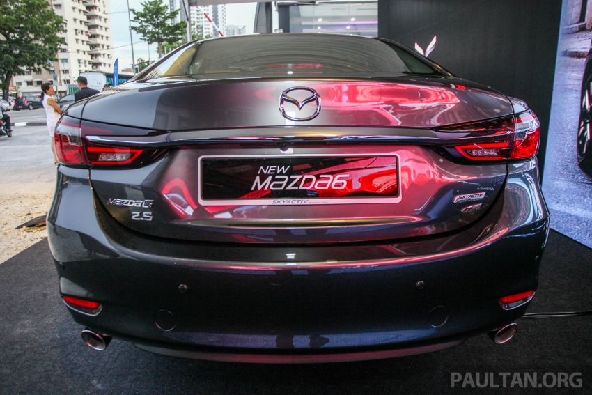 2018 Mazda 6 facelift previewed in M'sia – four variants Image #849676