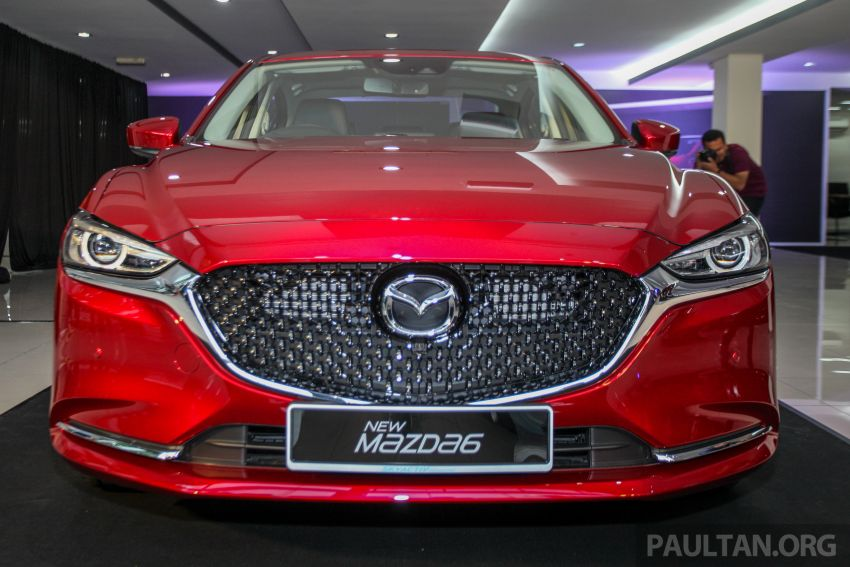 2018 Mazda 6 facelift previewed in M'sia – four variants Image #849632