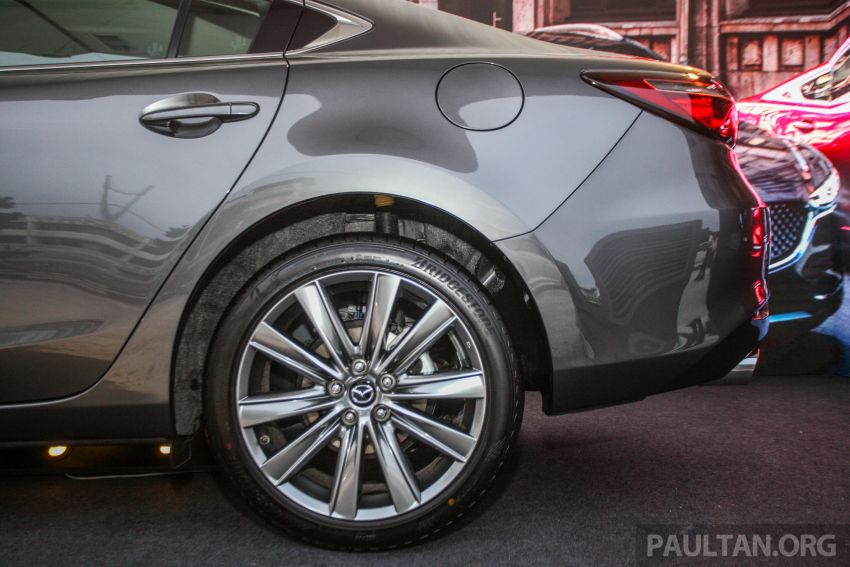 2018 Mazda 6 facelift previewed in M'sia – four variants Image #849679