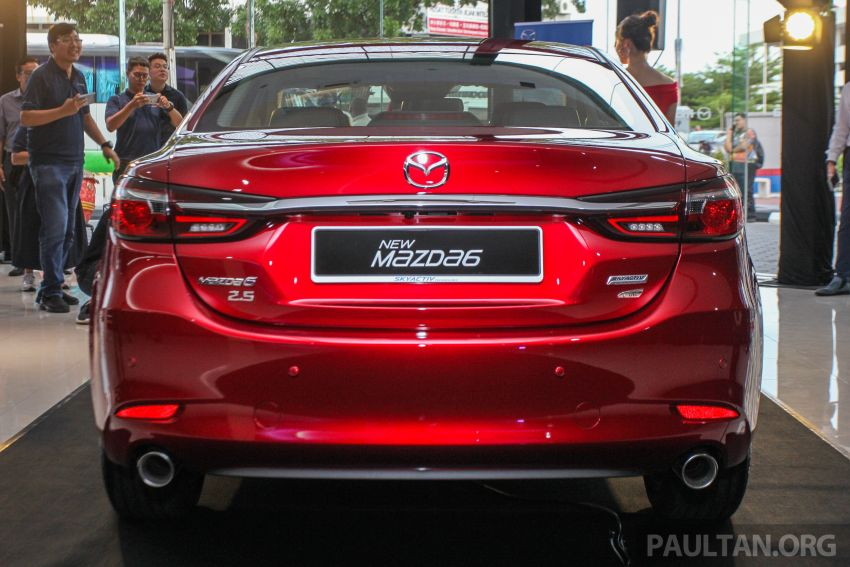 2018 Mazda 6 facelift previewed in M'sia – four variants Image #849633