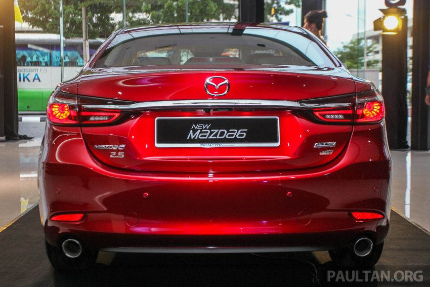 2018 Mazda 6 facelift previewed in M'sia – four variants Image #849635