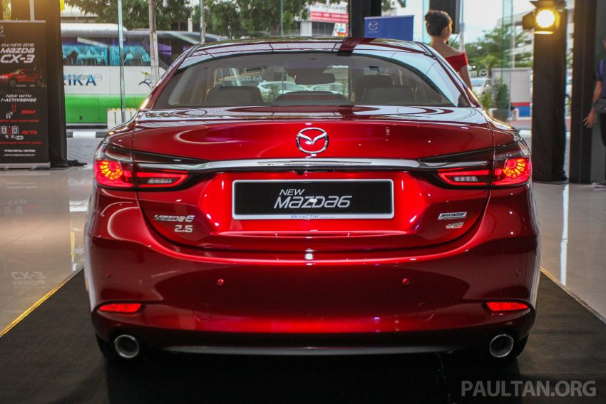2018 Mazda 6 facelift previewed in M'sia – four variants Image #849636