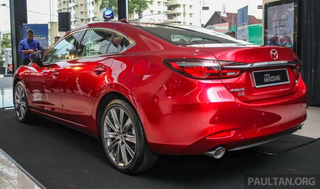 2019 Mazda 6 updated with GVC Plus, Apple CarPlay, Android