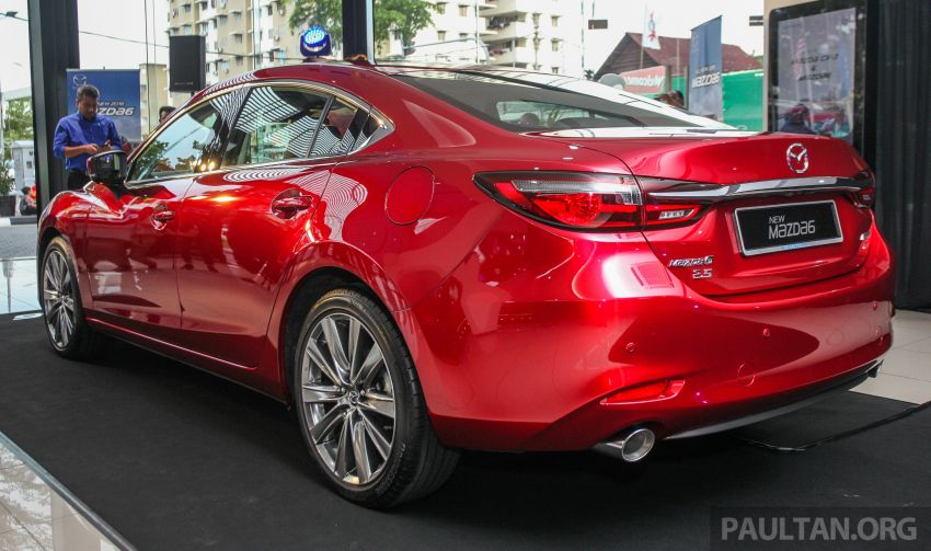 2018 Mazda 6 facelift previewed in M'sia – four variants Image #849637