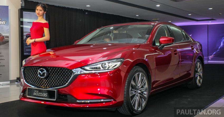 2018 Mazda 6 facelift previewed in M'sia – four variants Image #849613