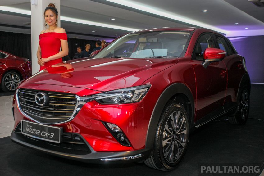 2018 Mazda CX-3 facelift launched in M'sia – RM121k Image #849686