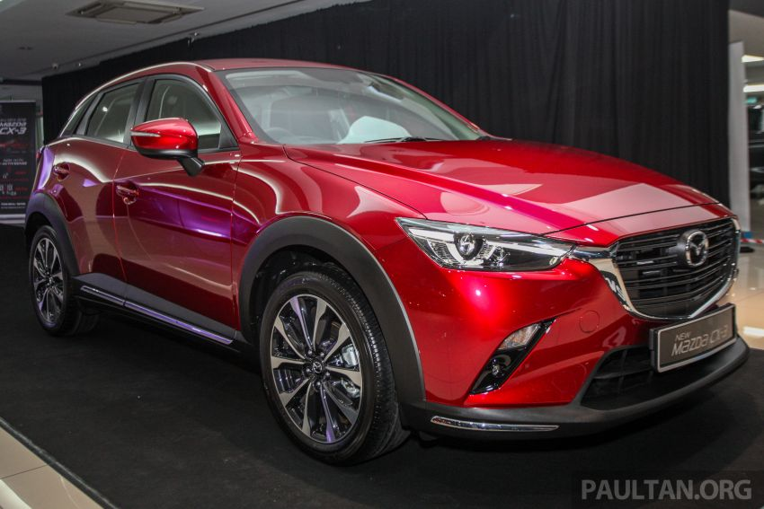 2018 Mazda CX-3 facelift launched in M'sia – RM121k Image #849687
