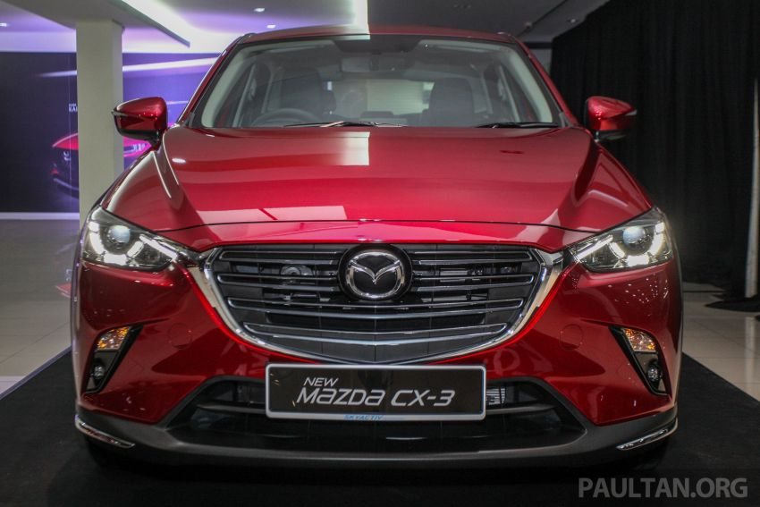 2018 Mazda CX-3 facelift launched in M'sia – RM121k Image #849693