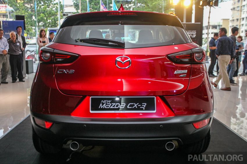 2018 Mazda CX-3 facelift launched in M'sia – RM121k Image #849694