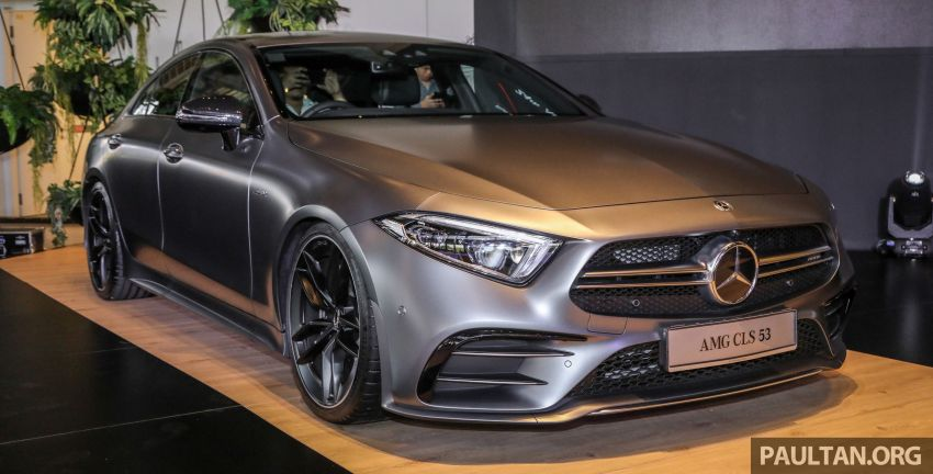 C257 Mercedes-AMG CLS 53 4Matic+ debuts in Malaysia – mild hybrid, Edition 1, from RM806k Image #854665