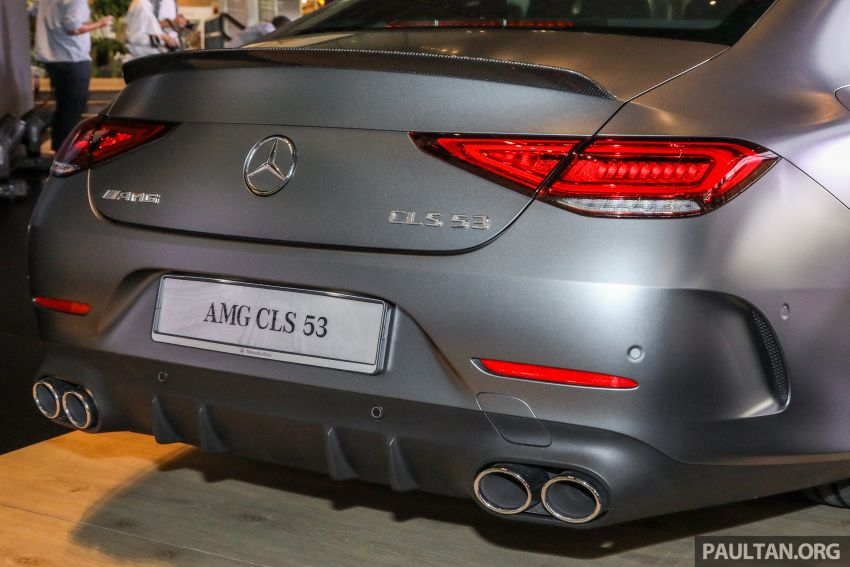 C257 Mercedes-AMG CLS 53 4Matic+ debuts in Malaysia – mild hybrid, Edition 1, from RM806k Image #854683