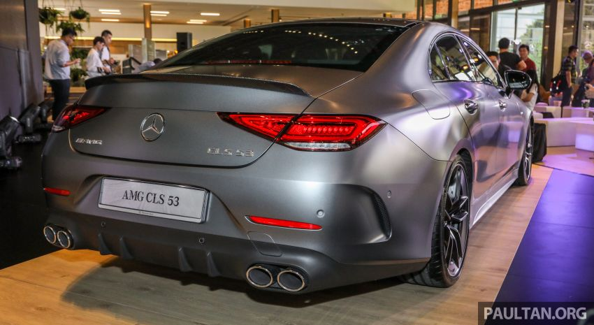 C257 Mercedes-AMG CLS 53 4Matic+ debuts in Malaysia – mild hybrid, Edition 1, from RM806k Image #854666