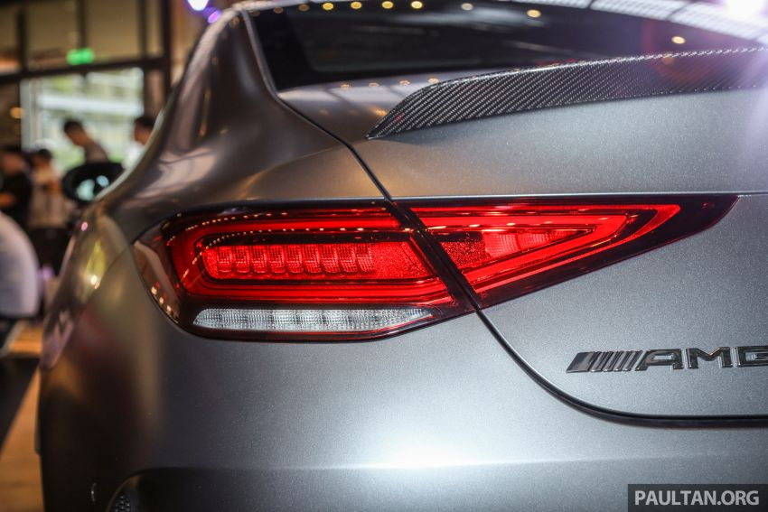 C257 Mercedes-AMG CLS 53 4Matic+ debuts in Malaysia – mild hybrid, Edition 1, from RM806k Image #854684