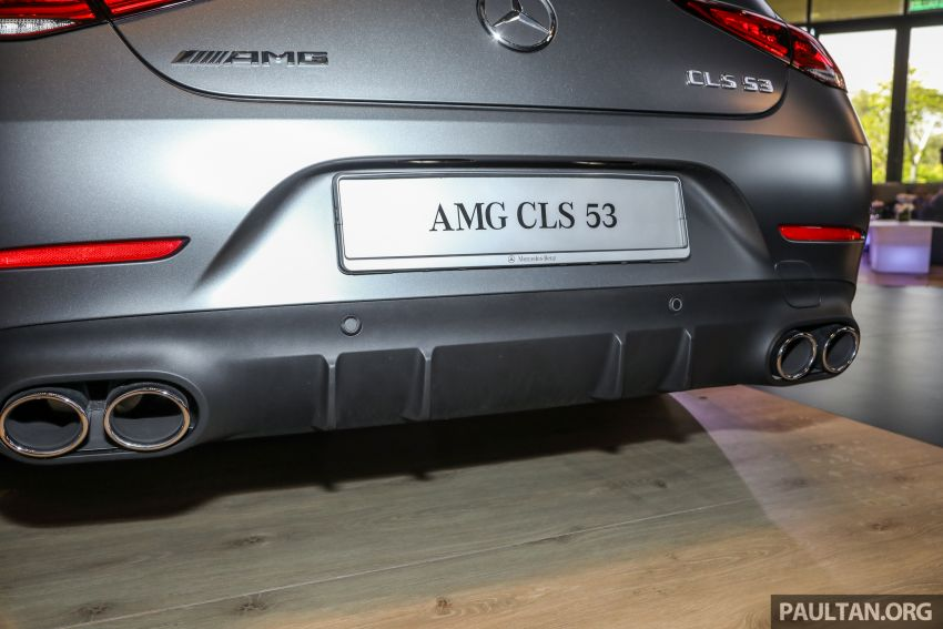 C257 Mercedes-AMG CLS 53 4Matic+ debuts in Malaysia – mild hybrid, Edition 1, from RM806k Image #854688
