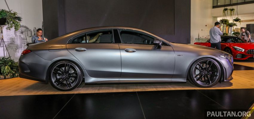 C257 Mercedes-AMG CLS 53 4Matic+ debuts in Malaysia – mild hybrid, Edition 1, from RM806k Image #854667