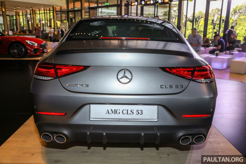 C257 Mercedes-AMG CLS 53 4Matic+ debuts in Malaysia – mild hybrid, Edition 1, from RM806k Image #854669