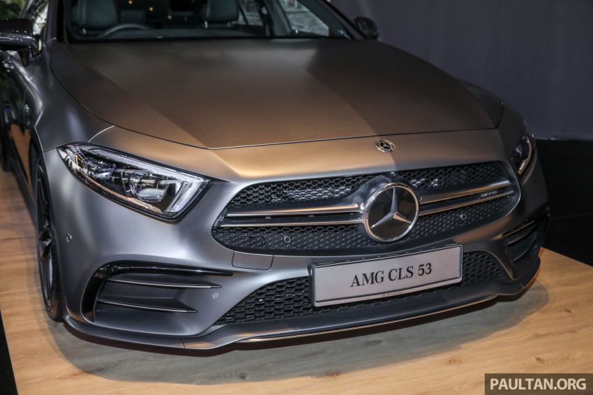 C257 Mercedes-AMG CLS 53 4Matic+ debuts in Malaysia – mild hybrid, Edition 1, from RM806k Image #854670