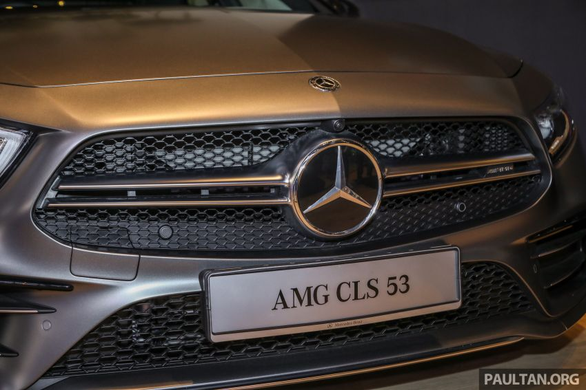 C257 Mercedes-AMG CLS 53 4Matic+ debuts in Malaysia – mild hybrid, Edition 1, from RM806k Image #854674