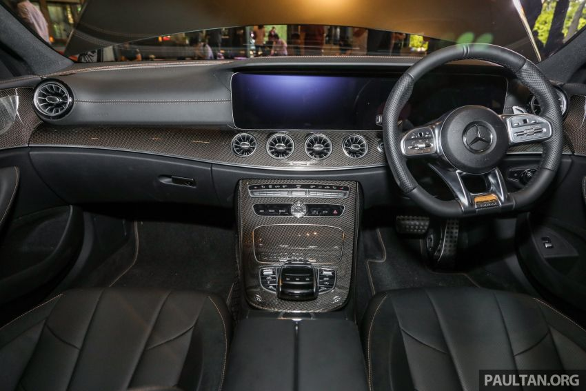 C257 Mercedes-AMG CLS 53 4Matic+ debuts in Malaysia – mild hybrid, Edition 1, from RM806k Image #854696