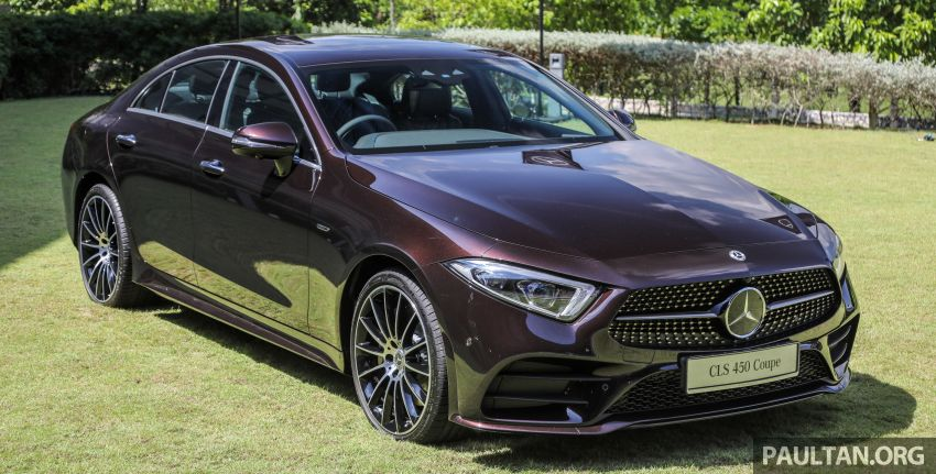 C257 Mercedes-Benz CLS 450 launched in Malaysia – Edition 1 form, RM650k, CLS 350 due later this year Image #854311