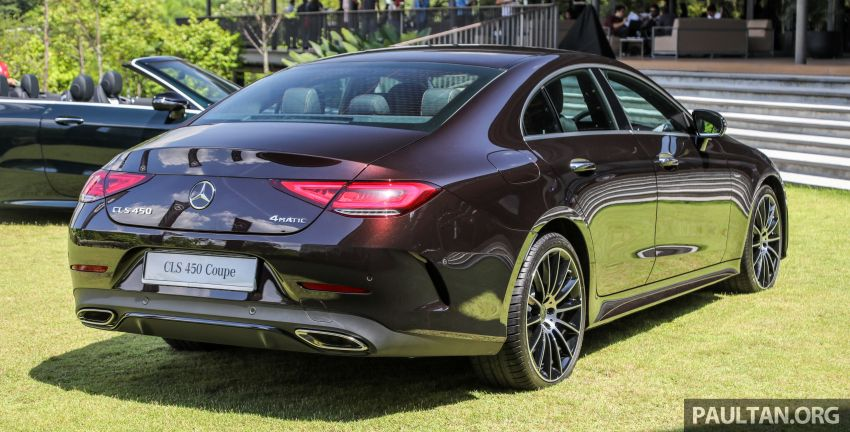 C257 Mercedes-Benz CLS 450 launched in Malaysia – Edition 1 form, RM650k, CLS 350 due later this year Image #854312