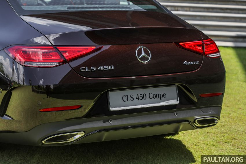 C257 Mercedes-Benz CLS 450 launched in Malaysia – Edition 1 form, RM650k, CLS 350 due later this year Image #854359