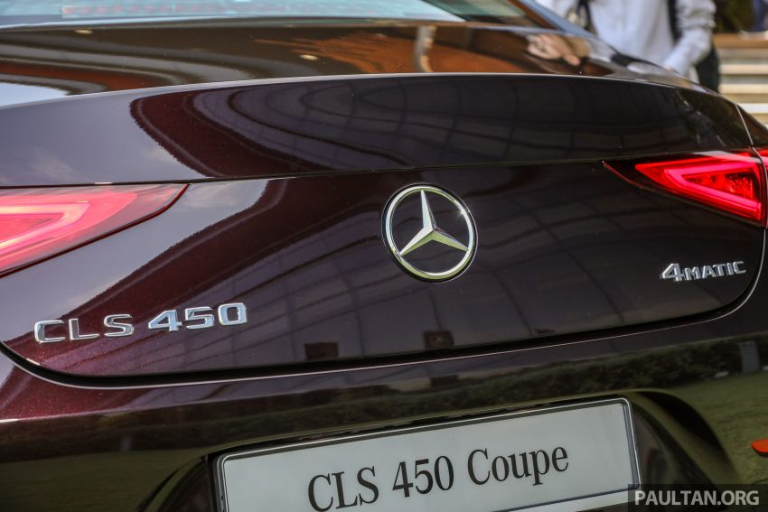 C257 Mercedes-Benz CLS 450 launched in Malaysia – Edition 1 form, RM650k, CLS 350 due later this year Image #854383