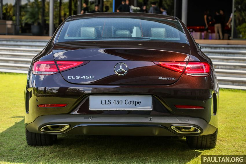 C257 Mercedes-Benz CLS 450 launched in Malaysia – Edition 1 form, RM650k, CLS 350 due later this year Image #854315